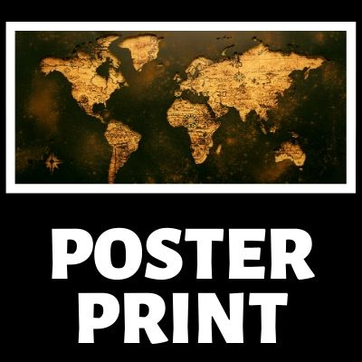 Map Prints and Posters by BestWorldMapWallArt.com